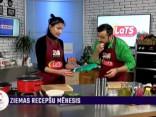 Natālija Jansone gatavo korejiešu zupu - mijok