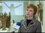 Preiļos apskatāma lietuviešu koktēlnieka un garīdznieka Antona Rimoviča izstāde