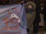 Sanktpēterburgā aiztur skolēnus, kuri aicina boikotēt Krievijas prezidenta vēlēšanas