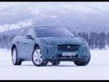 Jaguar I-PACE testi ziemeļos