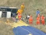 Gaisa balona avārijā Austrālijā ievainoti septiņi cilvēki