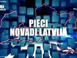 Pieci Novadi Latvijā 08.02.2018.