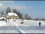 Jau otro gadu ziemas prieku entuziasti tiekas Sarkaņkalnā