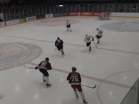 Mūziķi hokeja laukumā sagrauj Saeimas deputātus