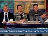 """""""Preses Klubā"""" viesos: Armands Puče, Kārlis Šadurskis un Līga Meņģelsone"""