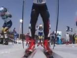 Slēpotāja Kalla kļūst par pirmo Phjončhanas olimpisko spēļu čempioni