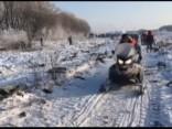 """Meklēšanas operācija lidmašīnas """"Antonov An-148"""" avārijas vietā Krievijā"""