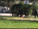 Apšaudes sarīkošanā apsūdzētā jaunieša aizturēšana Pārklendā, Floridas štatā