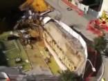 Romā parādījusies milzu bedre; evakuēti apkārtējo māju iedzīvotāji