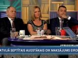 """""""Preses Klubā"""" viesos: Elīna Treija, Māris Gailis un Hosams Abu Meri"""