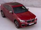 BMW X4 eksterjera un salona dizains