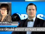 """Raidījumā """"Globuss"""": Vai Ukrainā beidzot iestāsies miers?"""