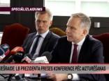 """""""TOP5"""" Speciālizlaidums: LB prezidenta preses konference pēc aizturēšanas"""