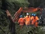 """Разрушения циклона """"Гита"""" в Новой Зеландии"""