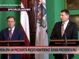 """""""TOP5"""" Speciālizlaidums: premjera un prezidenta preses konference"""