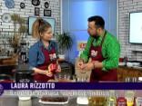 Laura Rizzotto kopīgiem spēkiem ar Roberto mācīsies pagatavot risoto