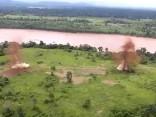 Peru džungļos spridzina narkokarteļu lidmašīnu skrejceļus