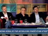 """""""Preses Klubā"""" viesos: Vjačeslavs Dobrovskis, Jānis Endziņš un Andrejs Ēķis"""
