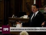Saeimā asas diskusijas par Ašeradena demisijas pieprasījumu