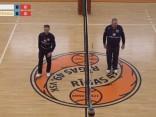 RTU/«Robežsardze» trīs setos zaudē «Saaremaa» volejbolistiem