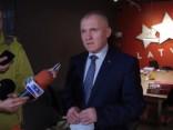 Informē par LBS valdes ārkārtas sēdes lēmumiem Jučmaņa un Šnepa strīdā