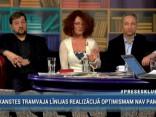 """""""Preses Klubā"""" viesos: Jānis Bordāns, Andrejs Klementjevs un Ieva Brante"""