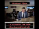 Kādēļ Ušakovs izmanto troļļu armiju, lai pats sev uzdotu jautājumus?