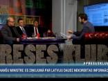 """""""Preses Klubā"""" viesos: Ģirts Rungainis, Jānis Ādamsons un Juris Jansons"""