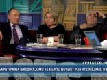 """""""Preses Klubā"""" viesos: Anita Daukšte, Aivars Borovkovs un Imants Parādnieks"""