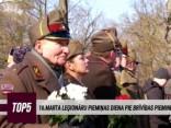 16. marta leģionāru piemiņas diena pie Brīvības pieminekļa
