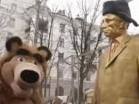 Ukrainā pie Krievijas diplomātiskajām pārstāvniecībām notiek ukraiņu nacionālistu protesta akcijas