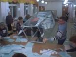 Krievijā tiek skaitītas vēlēšanu balsis