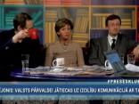 """""""Preses Klubā"""" viesos: Sandijs Semjonovs, Inese Vaidere un Arnis Kaktiņš"""