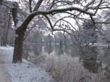 Parīzi klāj pamatīga sniega sega