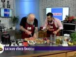 Aivars Freimanis gatavo rokeru veselīgo ēdienu - Vīnes šniceli