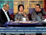 """""""Preses Klubā"""" viesos: Hosams Abu Meri, Edvīns Inkēns un Ināra Pētersone"""