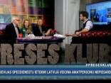 """""""Preses Klubā"""" viesos: Jānis Streičs, Māris Rēvalds un Inese Lībiņa-Egnere"""