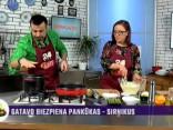 Ilze Džonsone gatavo karstos kvinojas salātus