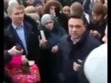 Volokolamskas iedzīvotāji protestē pret ķīmisko noplūdi