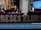 """""""Preses Klubā"""" viesos: Andris Bērziņš, Aldis Gobzems un Nellija Ločmele"""