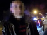 Video: Torņakalnā aizturēts taksometra vadītājs 2,71 promiles reibumā