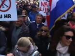Tūkstošiem Horvātu protestē pret Stambulas konvenciju