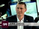"""""""TOP5"""" viesos Juris Jurašs"""
