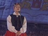 Vairas Vīķes - Freibergas uzruna Dziesmu un deju svētku Rīgai 800 noslēguma koncertā