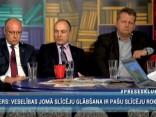 """""""Preses Klubā"""" viesos: Olavs Cers, Imants Parādnieks un Gatis Kokins"""