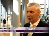 Pabriks par Makrona uzrunu Eiropas Parlamenta deputātiem