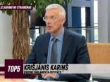 """""""TOP5"""" speciālizlaidums no Strasbūras: viesos Krišjānis Kariņš"""