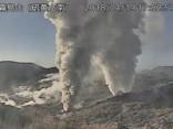 Japānas dienvidos vulkāns izvirdis pirmoreiz 250 gadu laikā