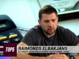 """TOP5"" viesos Raimonds Elbakjans"