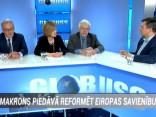 """Raidījumā """"Globuss"""": Makrons piedāvā reformēt Eiropas Savienību"""